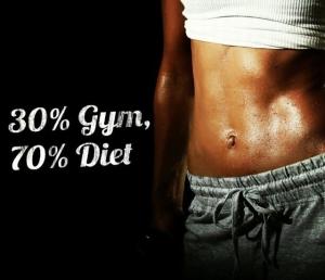 gym vs diet